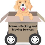 "Лого для ""Mama's Packing and Moving Services""    2017"